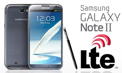 Galaxy Note 2 LTE firmware